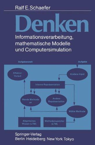 Denken: Informationsverarbeitung, Mathematische Modelle Und Computersimulation 9783540157243