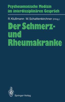 Der Schmerz- Und Rheumakranke 9783540502258
