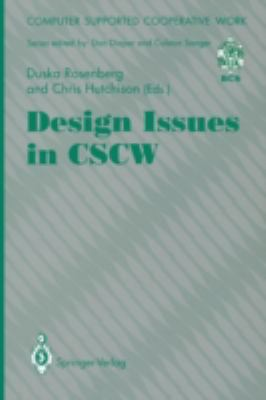 Design Issues in Cscw 9783540198109