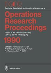 Dgor: Papers of the 19th Annual Meeting / Vortr GE Der 19. Jahrestagung 13154465