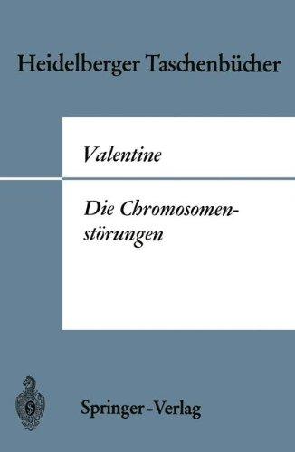 Die Chromosomenst Rungen: Eine Einf Hrung F R Kliniker 9783540041887