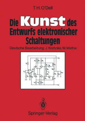 Die Kunst Des Entwurfs Elektronischer Schaltungen 9783540516712