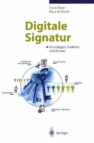 Digitale Signatur: Grundlagen, Funktion Und Einsatz 9783540655633