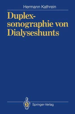 Duplexsonographie Von Dialyseshunts 9783540537779