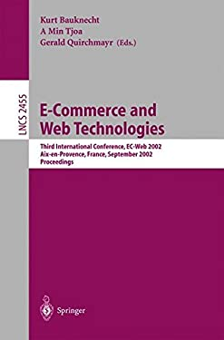 E-Commerce and Web Technologies: Third International Conference, EC-Web 2002, AIX-En-Provence, France, September 2-6, 2002, Proceedings 9783540441373