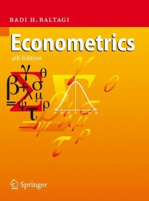 Econometrics 9783540765158