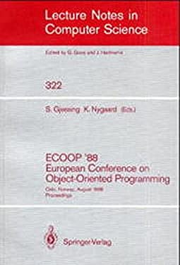 Ecoop '88 European Conference on Object-Oriented Programming: Oslo, Norway, August 15-17, 1988. Proceedings