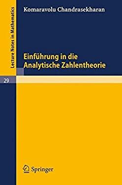 Einf Hrung in Die Analytische Zahlentheorie 9783540036111