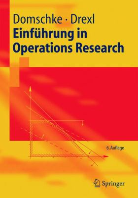 Einfuhrung in Operations Research 9783540234319
