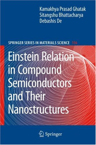 Einstein Relation in Compound Semiconductors and Their Nanostructures 9783540795568