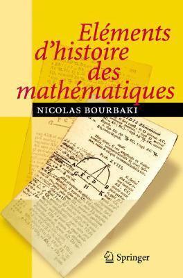 El Ments D'Histoire Des Math Matiques 9783540339380