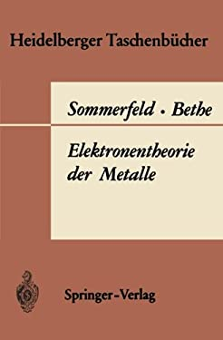 Elektronentheorie Der Metalle 9783540038665