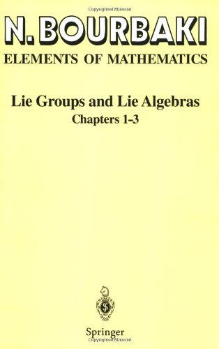 Lie Groups and Lie Algebras: Chapters 1-3 9783540642428