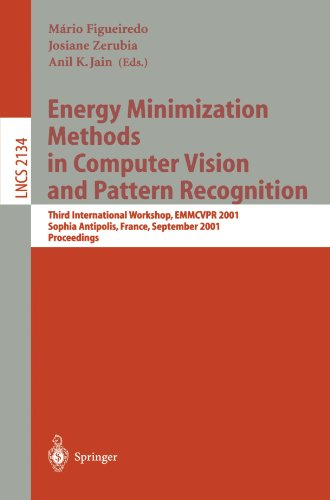 Energy Minimization Methods in Computer Vision and Pattern Recognition: Third International Workshop, Emmcvpr 2001, Sophia Antipolis France, September 9783540425236