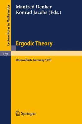 Ergodic Theory Denker M., Jacobs K.