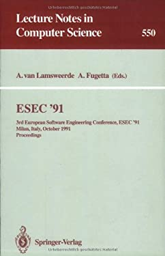 ESEC '91: 3rd European Software Engineering Conference, ESEC '91, Milan, Italy, October 21-24, 1991, Proceedings 9783540547426