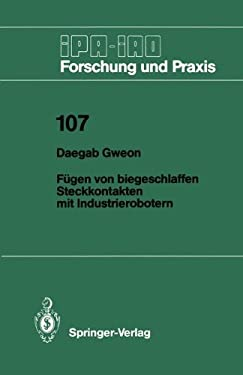 F Gen Von Biegeschlaffen Steckkontakten Mit Industrierobotern 9783540181347