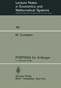 FORTRAN F R Anf Nger 9783540065388