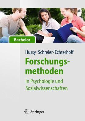 Forschungsmethoden in Psychologie Und Sozialwissenschaften - F R Bachelor 9783540959359