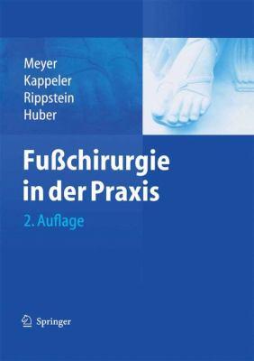 Fu Chirurgie in Der Praxis 9783540200062