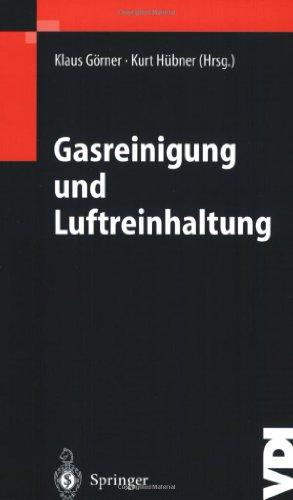 Gasreinigung Und Luftreinhaltung 9783540420064
