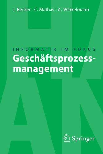 Gesch Ftsprozessmanagement 9783540851530