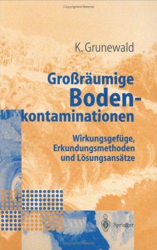Gro R Umige Bodenkontaminationen: Wirkungsgef GE, Erkundungsmethoden Und L Sungsans Tze 9783540627708