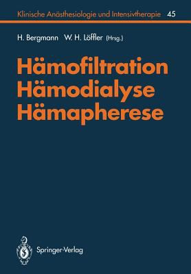 H Mofiltration, H Modialyse, H Mapherese 9783540569190