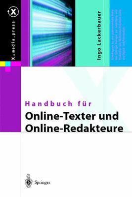 Handbuch Fur Online-Texter Und Online-Redakteure 9783540440932