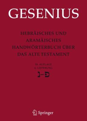 Hebr Isches Und Aram Isches Handw Rterbuch Ber Das Alte Testament: 4. Lieferung Nun - Pe 9783540683636