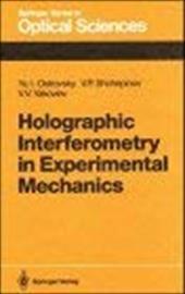 Holographic Interferometry in Experimental Mechanics 7963777