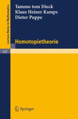 Homotopietheorie 9783540051855