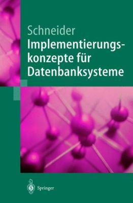 Implementierungskonzepte Fur Datenbanksysteme 9783540419624