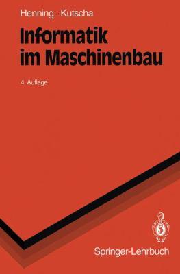 Informatik Im Maschinenbau 9783540575085