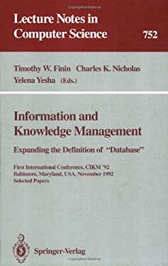 Information and Knowledge Management: Expanding the Definition of