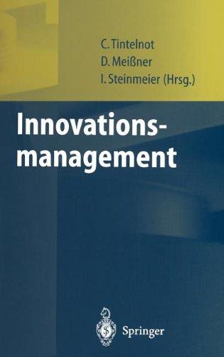 Innovationsmanagement 9783540655381