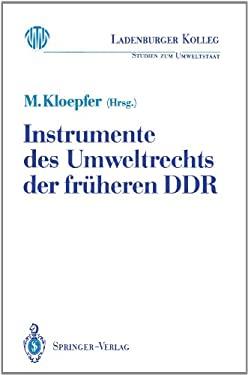 Instrumente Des Umweltrechts Der Fr Heren Ddr 9783540538547