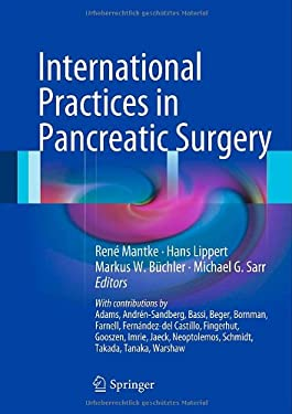 International Practices in Pancreatic Surgery 9783540745051
