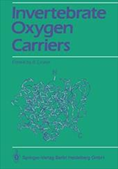 Invertebrate Oxygen Carriers 7944420