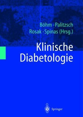 Klinische Diabetologie 9783540673835