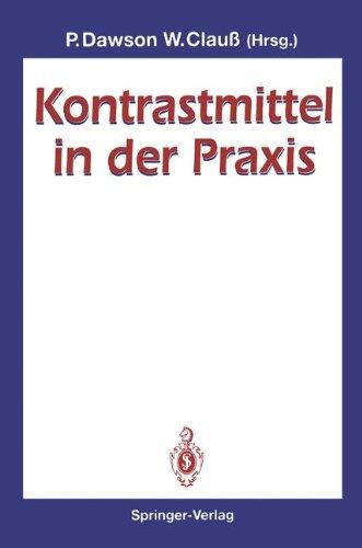 Kontrastmittel in Der Praxis 9783540566144