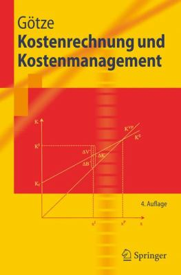 Kostenrechnung Und Kostenmanagement 9783540327158