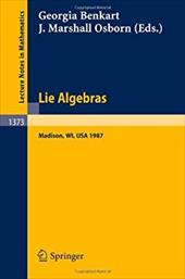 Lie Algebras: Madison 1987. Proceedings of a Workshop Held in Madison, Wisconsin, August 23-28, 1987
