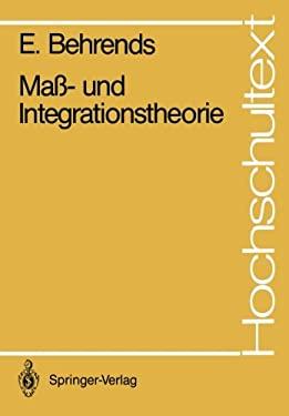 Ma - Und Integrationstheorie 9783540178507