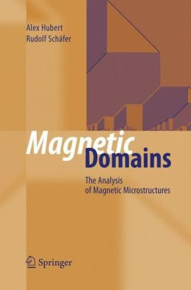Magnetic Domains: The Analysis of Magnetic Microstructures 9783540641087