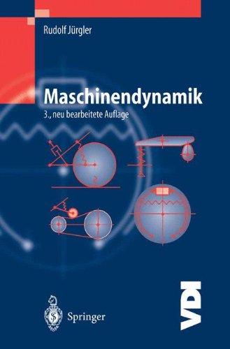 Maschinendynamik 9783540405993