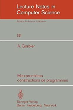 Mes Premieres Constructions de Programmes 9783540084389