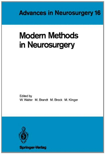 Modern Methods in Neurosurgery 9783540187080