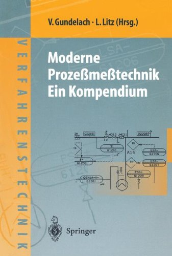 Moderne Proze Me Technik: Ein Kompendium 9783540632252