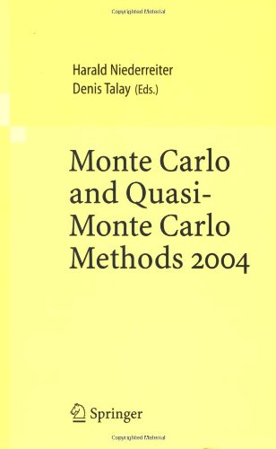Monte Carlo and Quasi-Monte Carlo Methods 2004 9783540255413
